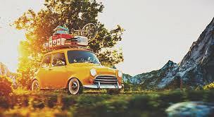 Vakantie 'Kids op de achterbank'